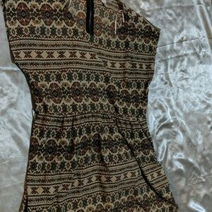 Beautiful fall dress forever 21 size large cute